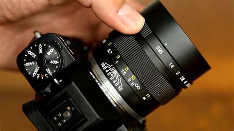 Lensa Meike 50mm Aps C F2 0 mitakon 35mm f 0 95 ii lens review lensvid