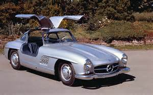 1954 Mercedes 300sl Gullwing Coupe 1954 Mercedes 300sl Front Three Quarter Photo 1