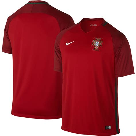 Jersey Portugal 1 nike portugal 2016 home stadium jersey