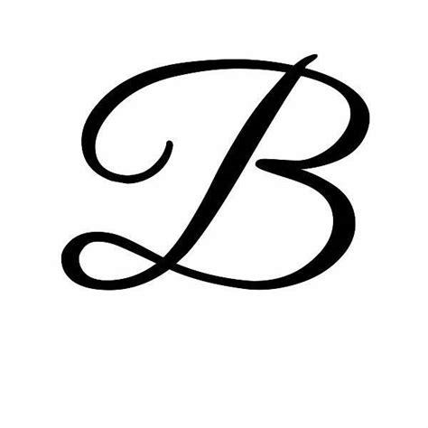 tattoo letter b designs cursive b dr