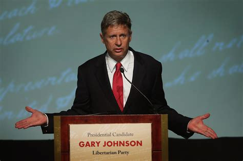 gary johnson wants why is college so expensive libertarian gary johnson