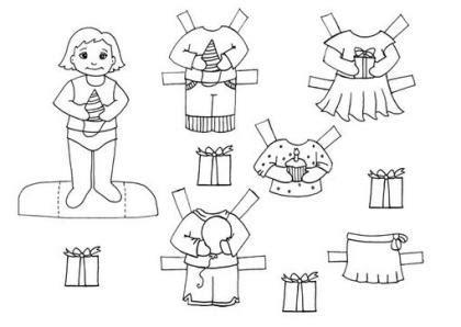 recortar imagenes web mu 241 ecas de papel para colorear y recortar