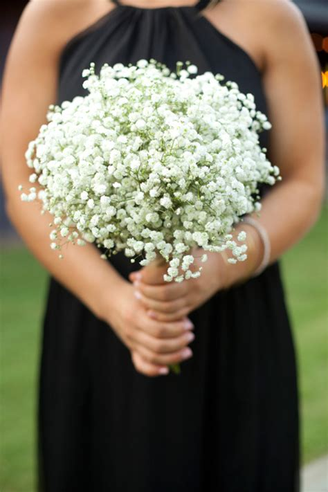 Wedding Bouquet Baby S Breath by Baby S Breath Bouquet How To Wrap Your Own Bouquet