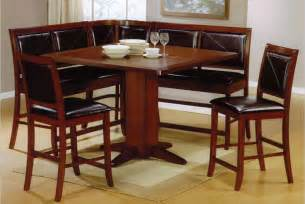 Nook Dining Table Set 21 Space Saving Corner Breakfast Nook Furniture Sets Booths
