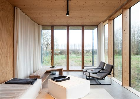 japanese home design blogs gafpa s u shaped weekend home in belgium boasts a bare