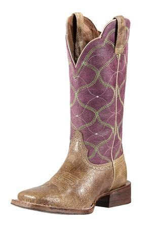 comfortable cowgirl boots ariat women s purple big city cowgirl boots no such