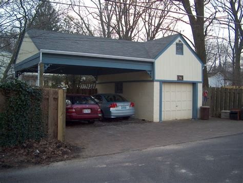 Garage Md by Carport Garage In Washington Grove Md Traditional