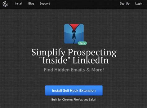 sell hack linkedin warns of sell hack browser tool that reveals