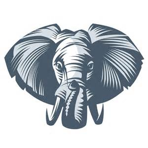 elephant head designs clipart best