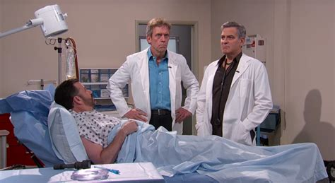 What Of Doctor Is House On Tv House Er Doctors Reunite For Jimmy Kimmel Live