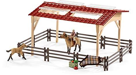 schleich scheune preisvergleich preisvergleich schleich 42195 pferdestall mit pferden