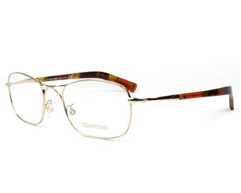 Tom Ford Aims To Create A New Version Of Luxury For by Lunettes De Vue Tom Ford Tf 5366 028 Or Monture Mixte