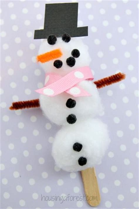 snowman craft for 17 best ideas about cotton crafts on