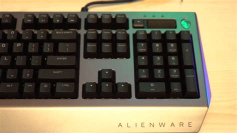 alienware pro gamig keyboard and advanced gaming mouse