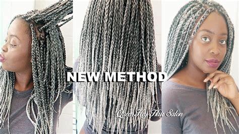 box braids vs individuals new method individual crochet box braids diy how