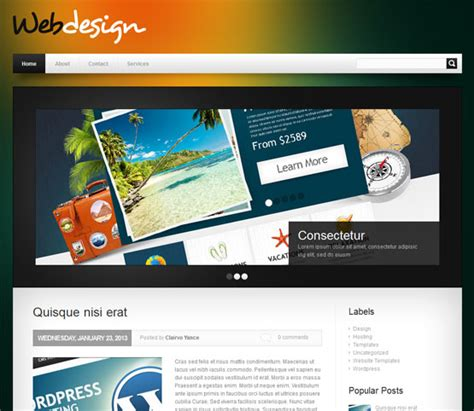blogger themes free professional top 10 free professional blogger templates 2013