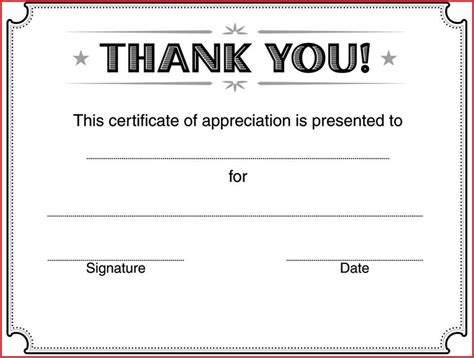 sle templates for certificates of appreciation 28 thank you certificate templates enernovva org
