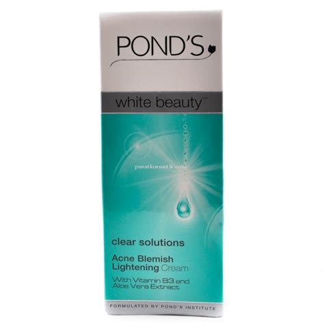 Pelembab Pond S Acne Solution ponds pond s white clear solutions acne blemish