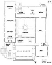 museum floor plan the oriental institute of the