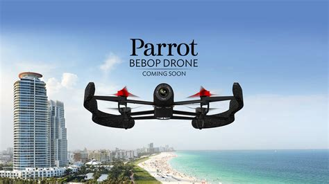 Drone Bebop parrot bebop drone le drone pilotable 224 longue distance