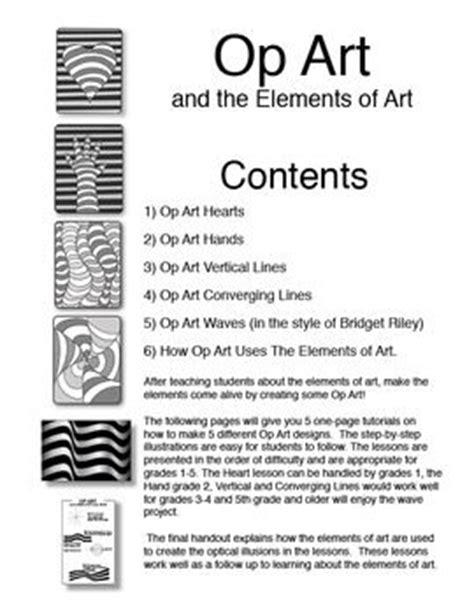 op art pattern names op art and the elements of art 1 op art elements of