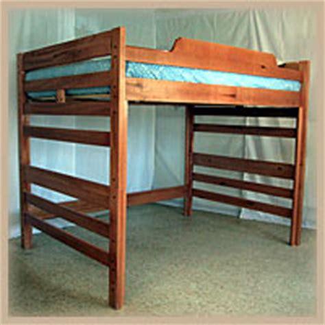 Bunk Bed Without Bottom Bunk Wooden Loft Beds Aspen Hardwood Loft Bed Ru2 Rm Nationalfurnishing