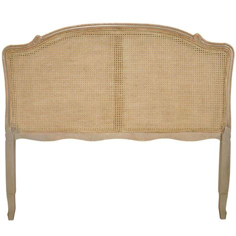 louis xv headboard louis xv style caned queen headboard at 1stdibs
