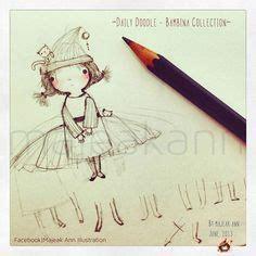 libro anns doodles a kaleidoscopia majeak ann 소녀 소녀