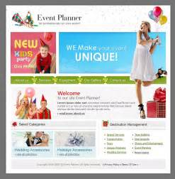 Event Planner Website Template Event Planner Website Template Web Design Templates