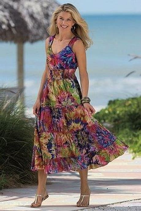 sundresses for women over 50 women in sundresses