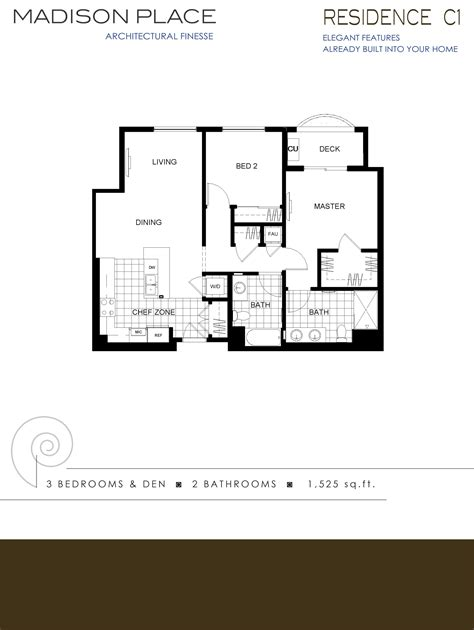 madison residences floor plan madison place condos of santa clara ca 1460 monroe st