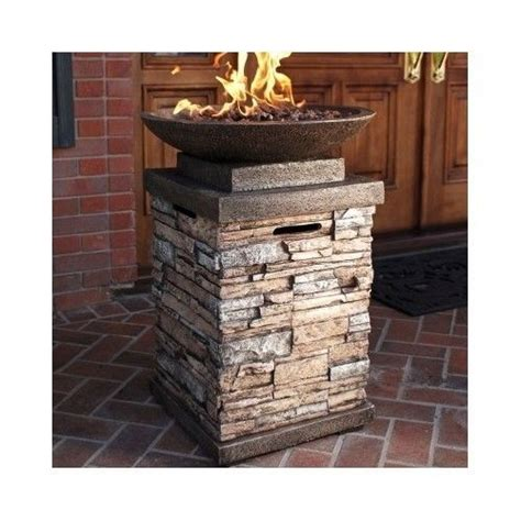 Gas Firepit For Deck Gas Pits Outdoor Patio Firepit Propane Firebowl