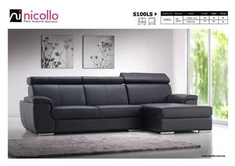 leather sectional sofa with ottoman