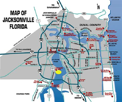 jacksonville florida map jacksonville fl map car interior design