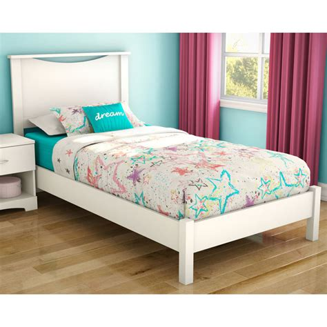 White Platform Bed With Headboard by Libra White Platform Bed With Headboard Dcg Stores