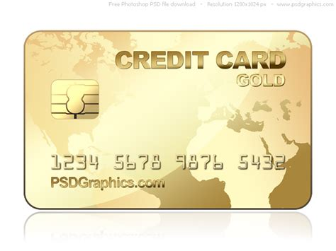 credit card psd template psd gold credit card template psdgraphics