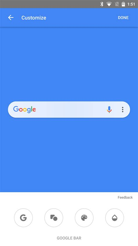search bar for android customizable search bar rolls out with the app beta 7 14 15 apk