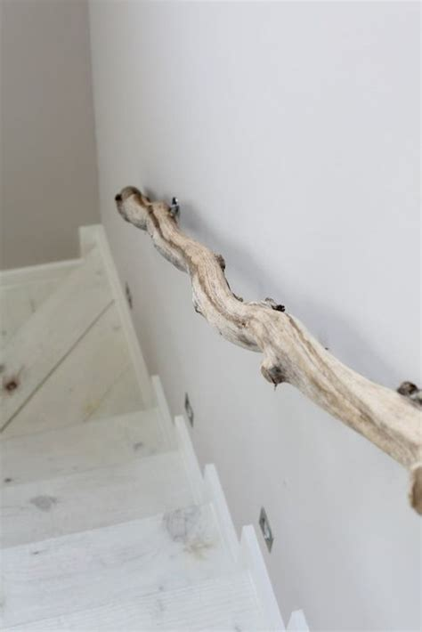 Tree Branch Banister by Branch Banister Cabin