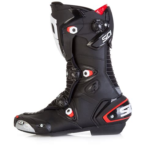 sidi motorcycle boots sidi mag 1 boots black sidi race boots free uk delivery