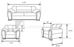 Dimensions Of A Couch Furniture Manila