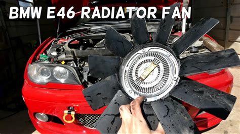 2003 bmw 325i radiator fan how to remove replace clutch radiator fan on bmw e46 325i
