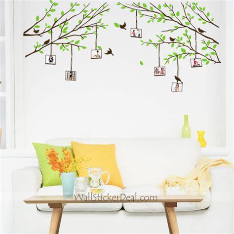 wall stickers frames tree photo frame wall sticker wallstickerdeal