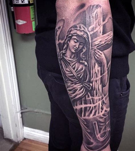 religious forearm tattoos for men 100 christian tattoos for manly spiritual designs