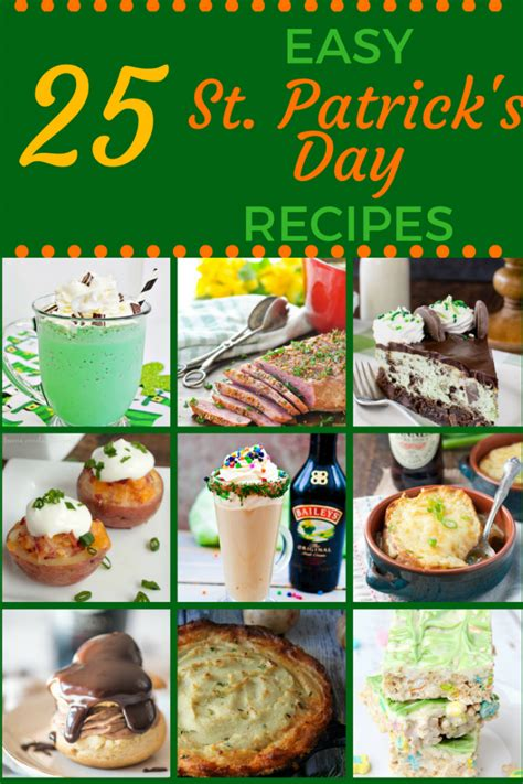 st s day food list 25 easy food recipes for st s day go go go