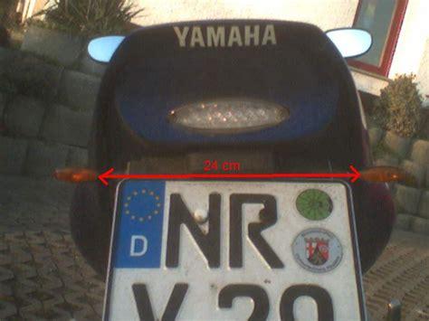 Motorrad Blinker Vorschrift by Blinkerabstand 167 167 Rechtliche Fragen Yamaha R6club