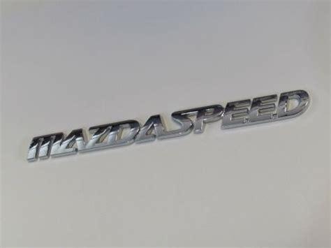Aksesoris Mobil Emblem Mazdaspeed Black emblem mazda speed