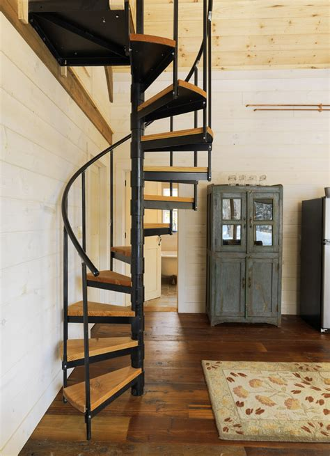 Spiral Stairs Design 27 Really Cool Space Saving Staircase Designs Digsdigs