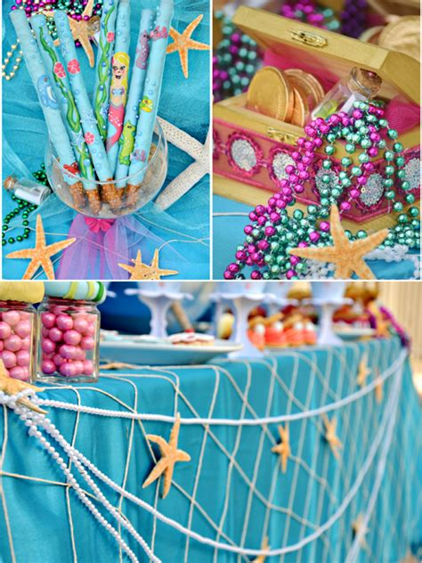 the sea mermaid birthday ideas