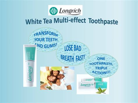 Longrich 290090 Toothpaste 100 G by Longrich White Tea Multi Effect Toothpaste 100g
