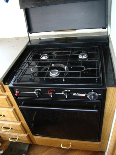 Rv Cooktop Rv Parts Used Rv Atwood Wedgewood 3 Burner Stove Top And